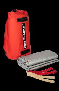 Samochodowa płachta gaśnicza Padtex Insulation SPG 6x9 Jednorazowego użytku + torba transportowa