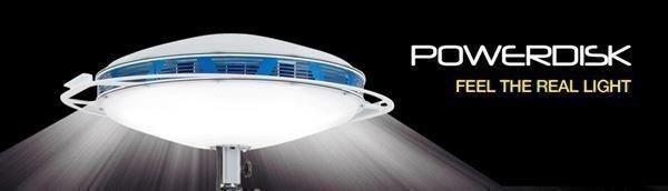 Oświetlenie pola akcji PowerDisk moc 50 000 lm 230V zestaw + skrzynia + zawiesie