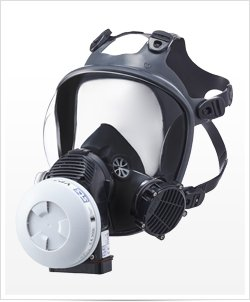 Maska ochronna SHIGEMATSU STS Sync09 z systemem wspomagania oddychania PAPR