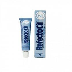 Augenbrauenfarbe und Wimpernfarbe (mit Gel-Konsistenz) RefectoCil, TIEFBLAU