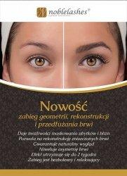 Flyer für Kundinnen über die Rekonstruktion der Augenbrauen