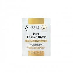 Szampon do rzęs i brwi Pure Lash & Brow od Noble Lashes