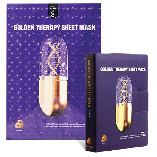 Goldtherapie, Maske als Pad