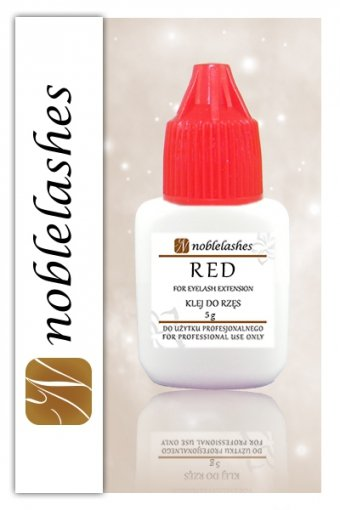 Klej do rzęs RED 5 ml