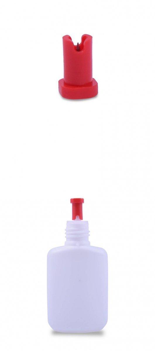 Adhesive needle