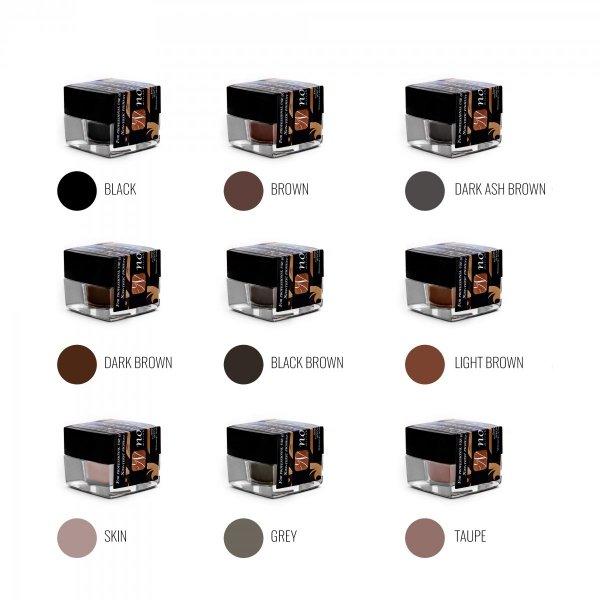 Pigment kremowy do microbladingu i rekonstrukcji brwi