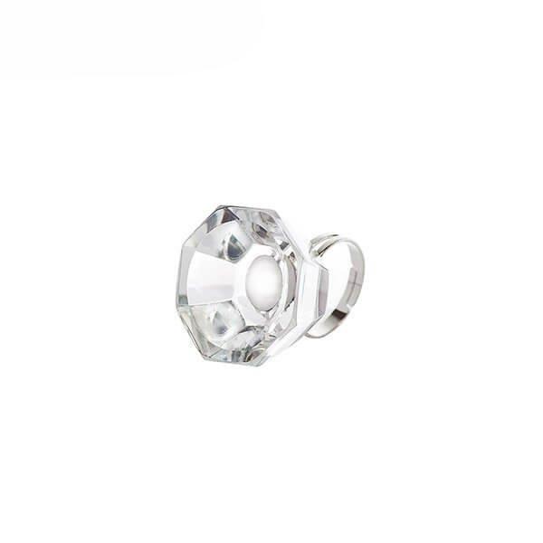 Pierścień kryształowy do kleju
