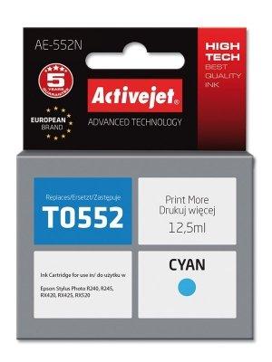Tusz Activejet AE-552N (zamiennik Epson T0552; Supreme; 12.5 ml; niebieski)