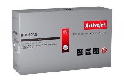 Toner Activejet ATH-80AN (zamiennik HP 80A CF280A; Premium; 2700 stron; czarny)