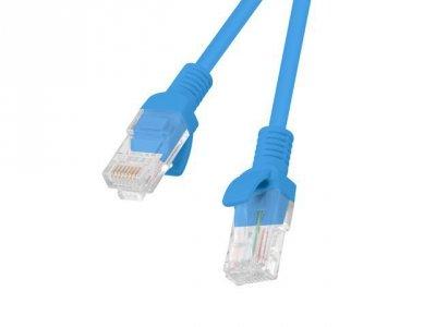 Lanberg PCU5-10CC-0300-B kabel sieciowy 3 m Cat5e U/UTP (UTP) Niebieski