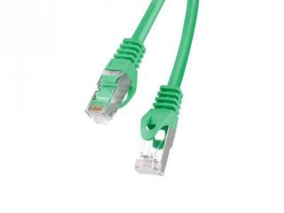 Lanberg PCF6-10CC-0500-G kabel sieciowy 5 m Cat6 F/UTP (FTP) Zielony