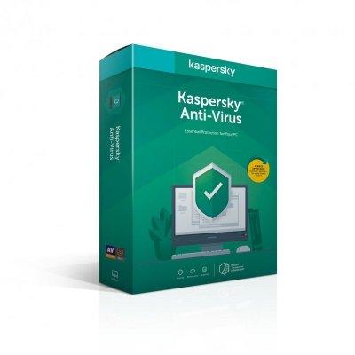 Kaspersky Anti-Virus PL (1 stan.; 12 miesięcy; BOX; Edukacyjna, Komercyjna)