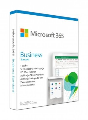 Microsoft 365 Business Standard Retail PL EuroZone Subscr