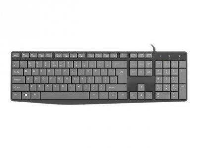 Klawiatura membranowa NATEC Flameback OEM NKL-1506 (USB 2.0; (US); kolor czarny)