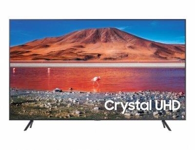 Samsung Series 7 UE65TU7172U 165,1 cm (65) 4K Ultra HD Smart TV Wi-Fi Węgiel, Srebrny