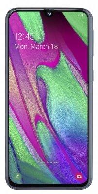 Smartfon Samsung Galaxy A40 64GB Black (5,9; Super AMOLED; 2340x1080; 4GB; 3100mAh) (WYPRZEDAŻ)
