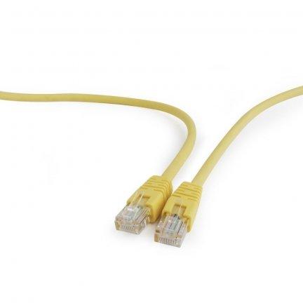 Gembird PP12-1M/Y kabel sieciowy Cat5e U/UTP (UTP) Żółty