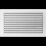 KRATKA kominkowa 22x37 biała z żaluzją