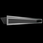 Kratka kominkowa LUFT szlifowany 9x100