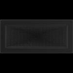 KRATKA kominkowa  17x37 czarna