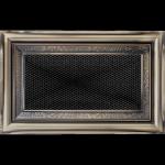 KRATKA kominkowa galwaniczna 11x17 rustykalna