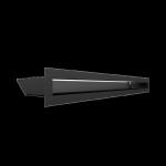 Kratka kominkowa LUFT czarny 6x60