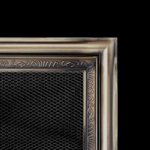 KRATKA kominkowa galwaniczna 17x17 rustykalna