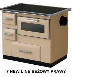 Kuchnia 7 New Line Beżowy prawy - MBS 9,5 kW