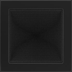 KRATKA kominkowa 22x22 czarna