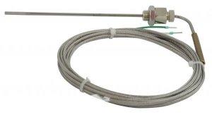 Czujnik służy do pomiaru temperatury spalin (0…+1200°C)