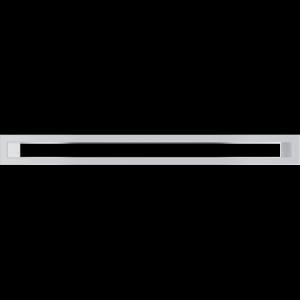 KRATKA kominkowa TUNEL  biała 60x600