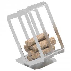 Stojak na drewno P3 inox