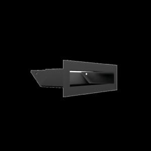Kratka kominkowa LUFT SF czarny 6x20