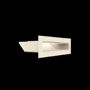 Kratka kominkowa LUFT SF kremowy 6x20
