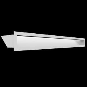 Kratka kominkowa LUFT biały 9x100