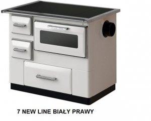 Kuchnia 7 New Line Biały prawy - MBS 9,5 kW