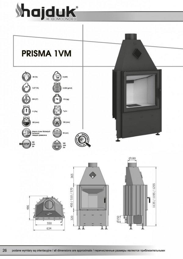 HAJDUK Prisma 1VM