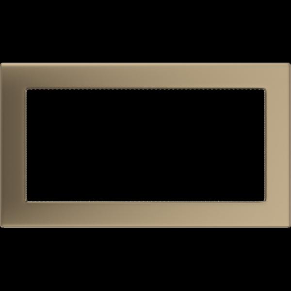 KRATKA kominkowa 17x30 złoto galwaniczne
