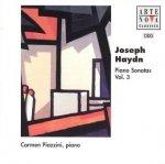 Joseph Haydn - Piano Sonatas Vol. 8 Carmen Piazzini, Piano (CD)