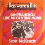 Scott McKenzie - San Francisco (7'')