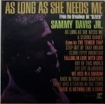 Sammy Davis Jr. - As Long As She Needs Me (LP)