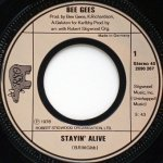 Bee Gees - Stayin' Alive (7'')