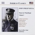 Royal Artillery Band, Keith Brion - John Philip Sousa: Music For Wind Band 6, Vol. 1 (CD)