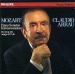 Mozart - Claudio Arrau - Piano Sonatas (LP)