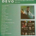Devo - Q: Are We Not Men? A: We Are Devo / Devo Live (CD)