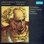 Ludwig van Beethoven, Gewandhausorchester Leipzig, Kurt Masur - Sinfonie Nr. 5 C-moll Op. 67 (LP)