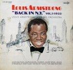 Louis Armstrong - Back In N.Y. Vol.1 (1935) (LP)