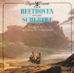 Beethoven, Schubert - Symphony No. 5 / Symphony No. 8 Unfinished (CD)