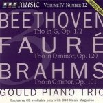 Beethoven, Faure, Brahms - Piano Trios: The Gould Trio (CD)