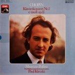 Chopin - Maurizio Pollini, The Philharmonia Orchestra London, Paul Kletzki - Klavierkonzert Nr. 1 E-Moll Op. 11 (LP)